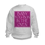 Yogi-Bun in Oven Kids Sweatshirt