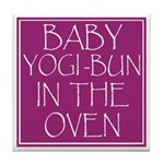 Yogi-Bun in Oven Tile Coaster