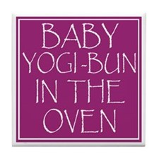 Yogi-Bun in Oven Tile Coaster