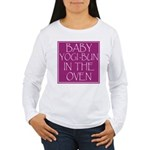 Yogi-Bun in Oven Women's Long Sleeve T-Shirt
