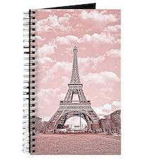 Eiffel Tower in pink Journal