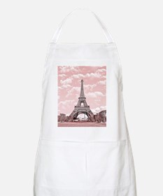 Eiffel Tower in pink Apron