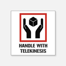 Handle With Telekinesis Sticker