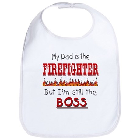 Dad is FIREFIGHTER Bib