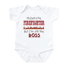 Dad is FIREFIGHTER Infant Bodysuit