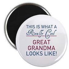 Really Cool Great Grandma Magnet