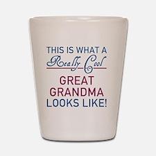 Really Cool Great Grandma Shot Glass