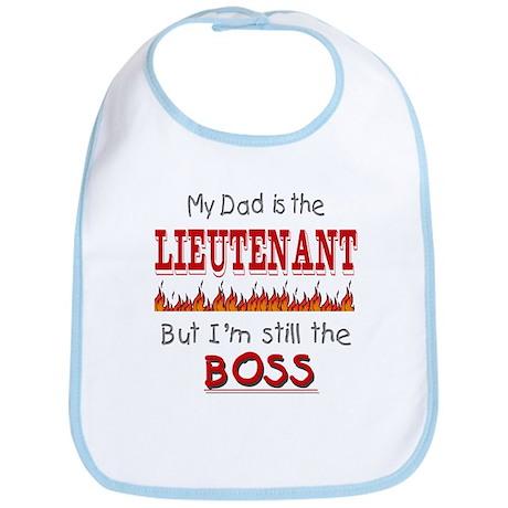 Dad is LIEUTENANT Bib