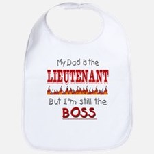 Dad is LIEUTENANT Bib