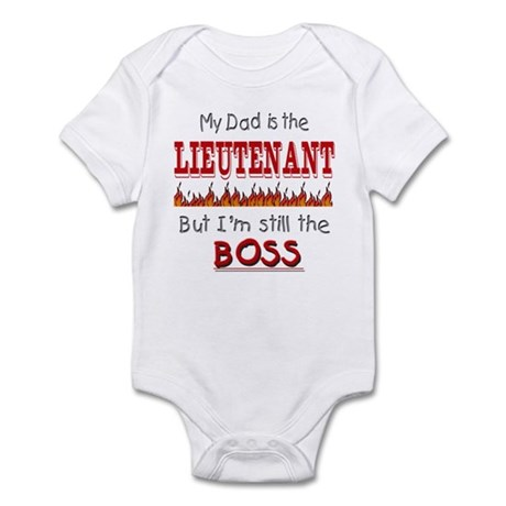 Dad is LIEUTENANT Infant Bodysuit