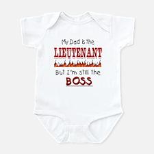 Dad is LIEUTENANT Infant Bodysuit