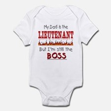 Dad is LIEUTENANT Onesie