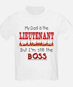 Dad is LIEUTENANT T-Shirt