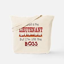 Dad is LIEUTENANT Tote Bag