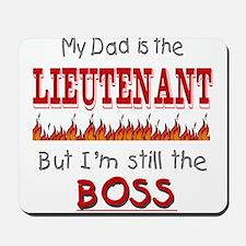 Dad is LIEUTENANT Mousepad