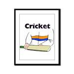 Cricket Framed Panel Print