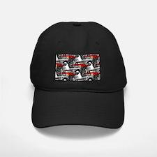 RED MONSTER TRUCK Baseball Hat