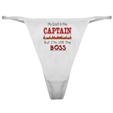 Dad is CAPTAIN Classic Thong