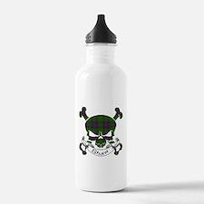 Shaw Tartan Skull Sports Water Bottle