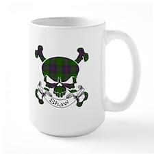 Shaw Tartan Skull Mug