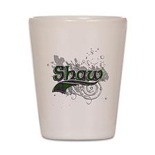 Shaw Tartan Grunge Shot Glass
