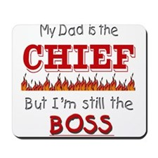 Dad is CHIEF Mousepad