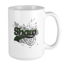 Shaw Tartan Grunge Mug