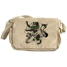 Shaw Tartan Lion Messenger Bag
