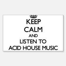 Acid house music stickers acid house music sticker for What is acid house music