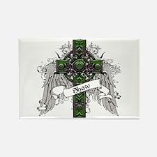 Shaw Tartan Cross Rectangle Magnet