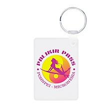 Palikir Pass (surf) Keychains