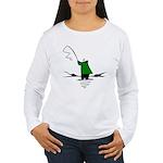 Fishing Women's Long Sleeve T-Shirt