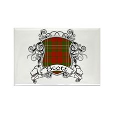 Scott Tartan Shield Rectangle Magnet