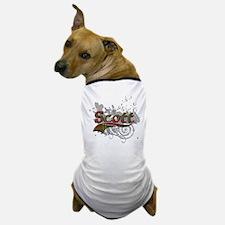 Scott Tartan Grunge Dog T-Shirt