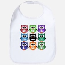 Owl You Need Is Love!!! Bib