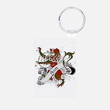 Scott Tartan Lion Keychains