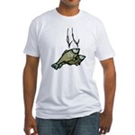 Fishing 2 Fitted T-Shirt