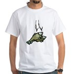 Fishing 2 White T-Shirt