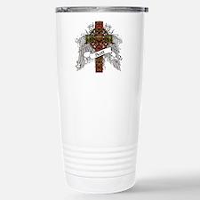 Scott Tartan Cross Travel Mug