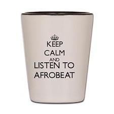 Funny Afrobeat Shot Glass