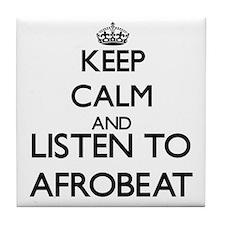 Cute Afrobeat Tile Coaster