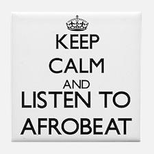 Unique Afrobeat Tile Coaster
