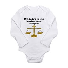 My Daddy Is The Words Best Lawyer Body Suit