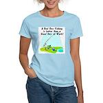 A Bad Day Fishing... Women's Light T-Shirt