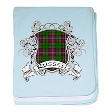 Russell Tartan Shield baby blanket