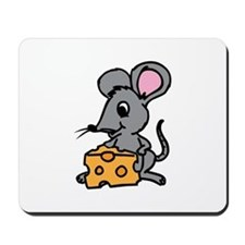 Mouse And Cheese Mousepad