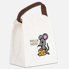 Feelin Mousy Canvas Lunch Bag