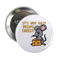 """Easy Being Cheesy 2.25"""" Button (100 pack)"""