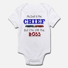 Dad is CHIEF Infant Bodysuit