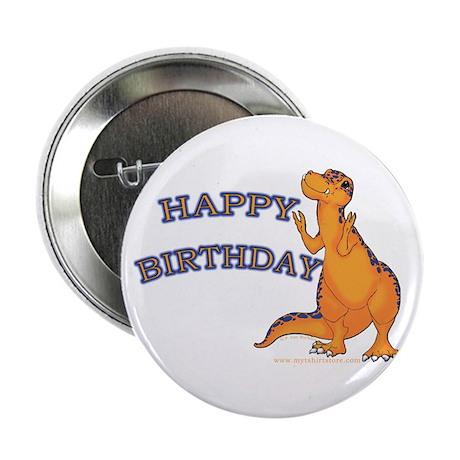 Happy Birthday Dino Button